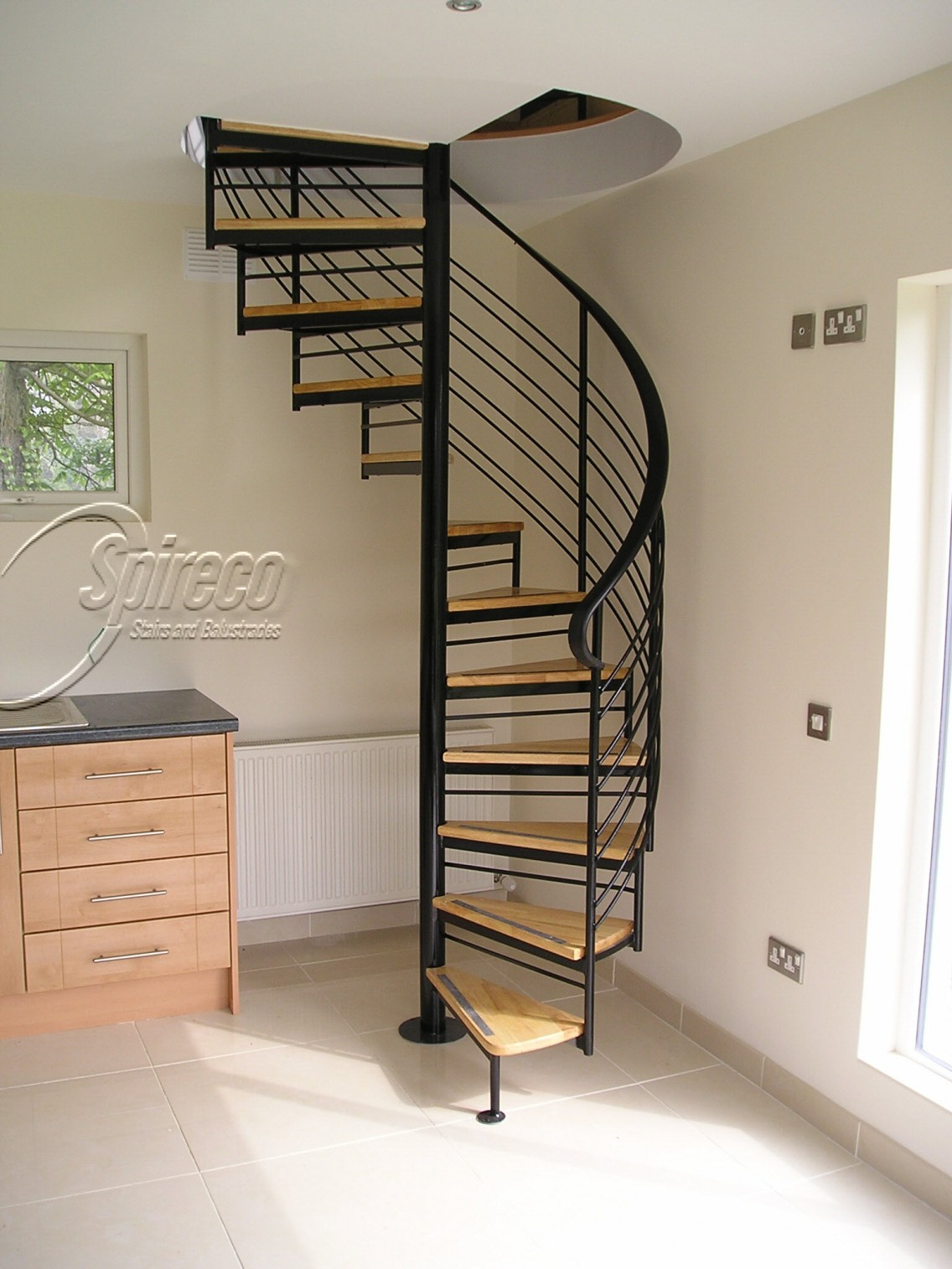 Traditional Style Spiral Stairs Spireco