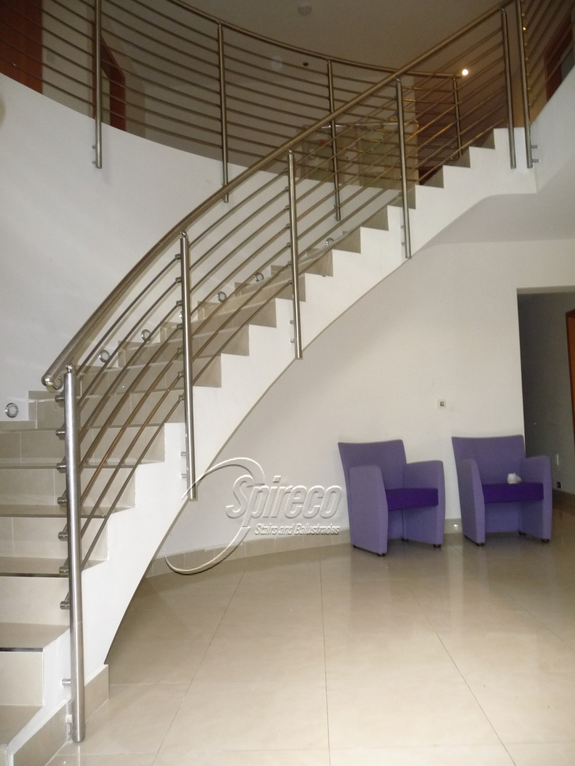 Curved Stairs Amp Balustrades Spireco Spiral Stairs