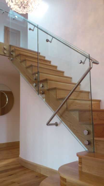 Delgany Oak Stairs Spireco Spiral Stairs