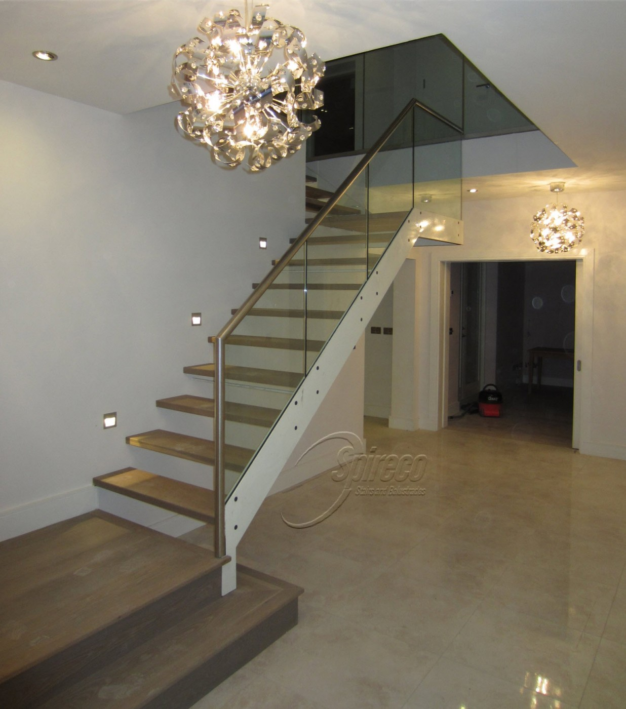 Design Floating Stairs floating stairs spireco spiral kilcrea double plate string stairs